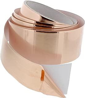 BISupply   Conductive Copper Foil Tape, 2 Inch – 18 Ft Copper Electrical Adhesive Roll EMI Shield Copper Repair Tape