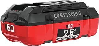 CRAFTSMAN V60 Battery, 2.5 Ah Lithium Ion (CMCB6025)