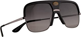 GG0478S Sunglasses Black Ruthenium w/Grey Gradient Lens 59mm 001 GG0478/S 0478/S GG 0478S