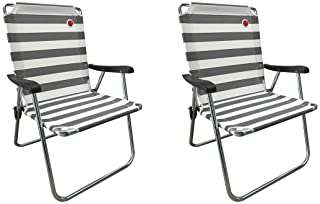 OmniCore Designs New Standard Folding Camp/Lawn Chair (2 Pack)