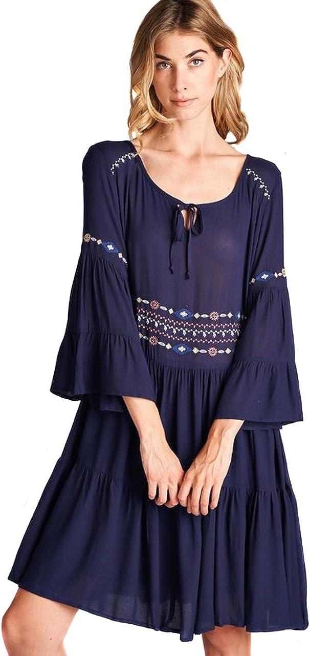 Umgee Women's Maxi Chic Long Sleeve Open Front Cardigan Sweater Jacket