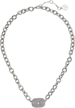 "18"" Pave Link Necklace"