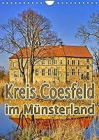 Kreis Coesfeld im Muensterland (Wandkalender 2022 DIN A4 hoch): Historische und naturverbundene Orte der Region rund um Coesfeld im Muensterland (Monatskalender, 14 Seiten )