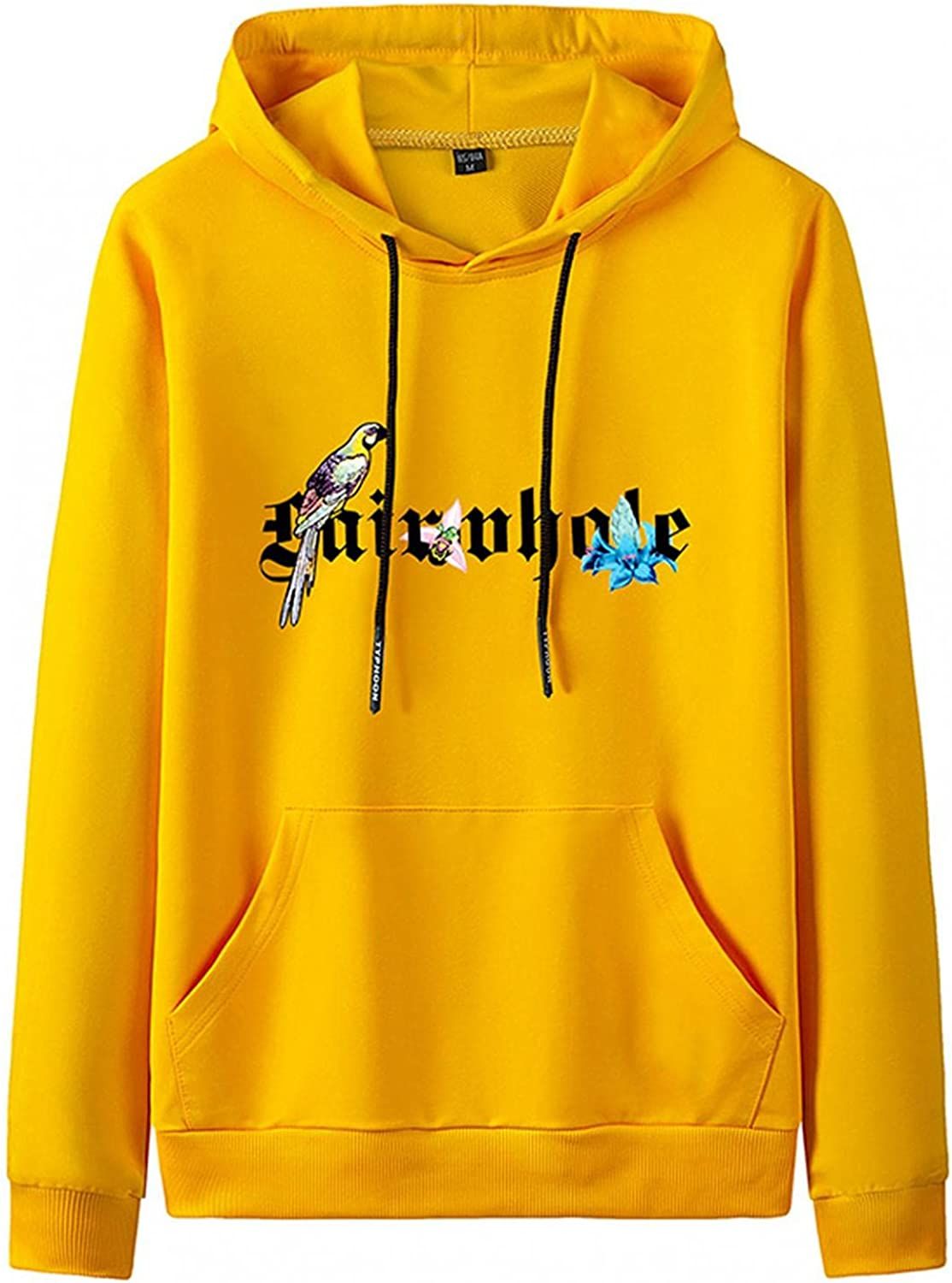 Men's Sweatshirts Lightweight Hooded 2021 Pullover Hoodies Casual Straight Solid Color Novelty Clothing
