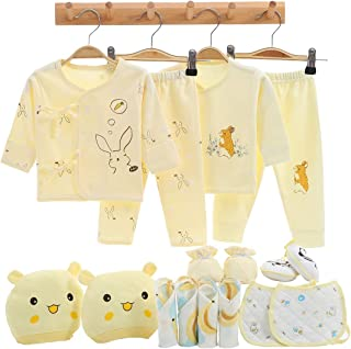 16PCS Newborn Girl Boy Clothes Baby Gifts Coming Home Outfits Essentials Stuff