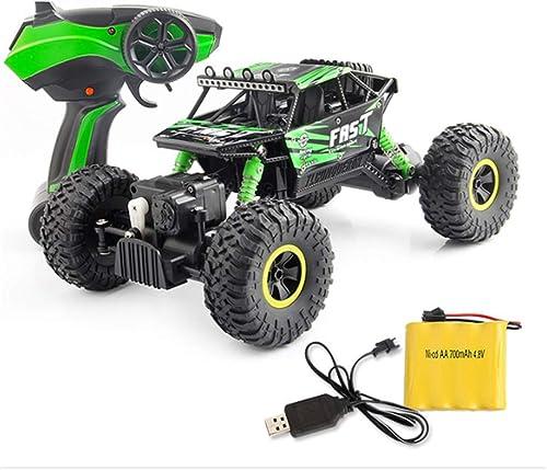 todos los bienes son especiales CZALBL Coche de Control Control Control Remoto, Off-Road Modelo Rock Car de Alta Velocidad 1 16 inalámbrico eléctrico de Control Remoto, Adecuado para Niños, B  entrega gratis