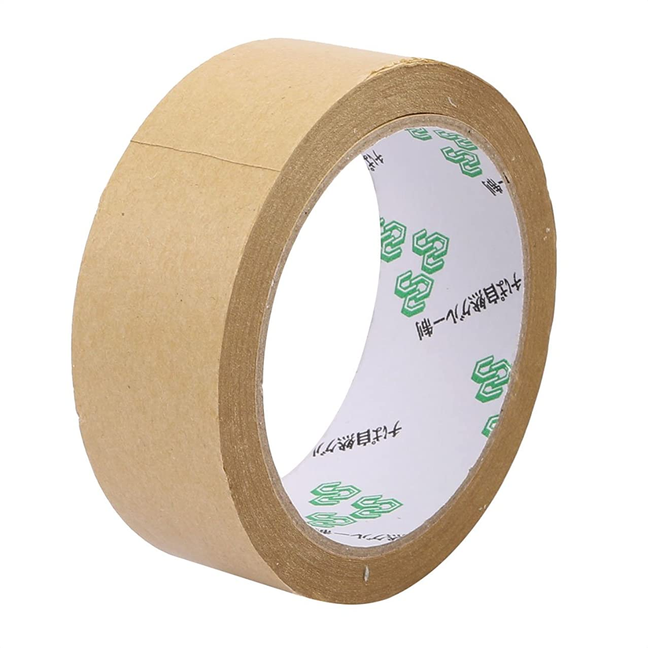 uxcell 35mm x 23M Marking Seal Pack Hot Melt Adhesive Electrical Insulation Tape Tawny