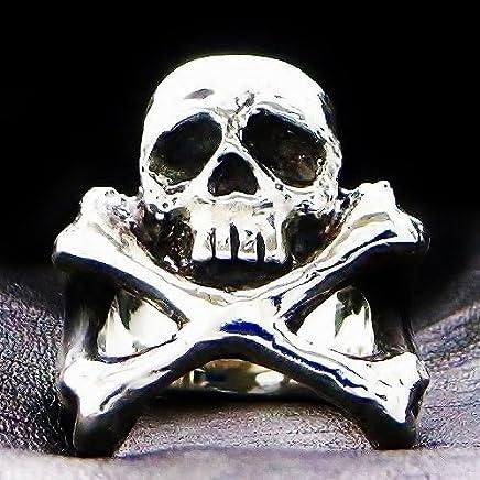 キャラクタージュエリー 松本零士 スカルリング アルカディアクロスボーンリング 15号~25号 受注生産品 宇宙海賊キャプテンハーロック