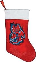 Eevee Full Color Evolution Christmas Stockings Red and White Plush Velvet Fireplace Hanging Stocking Santa Xmas Socks for ...