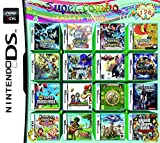 CMLegend 208 Jeux en 1 NDS Game Pack Card Super Combo Multi Cartouches pour DS NDS NDSL NDSi 3DS 2DS XL