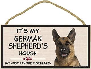 Imagine This Wood Breed Decorative Mortgage Sign, German Shepherd