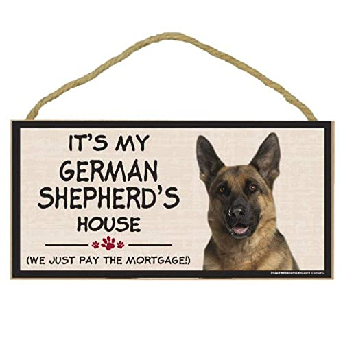German Shepherd Security Force Sign