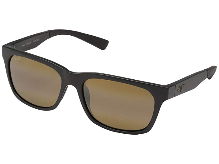 Boardwalk (Matte Black/HCL Bronze) Fashion Sunglasses