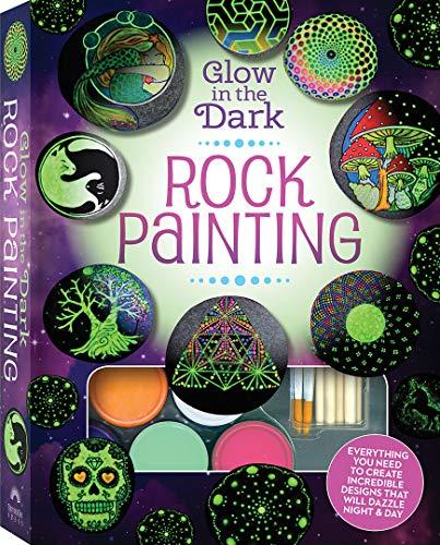 Glow in the Dark Rock Painting Box Set (Rock Painting Kit)