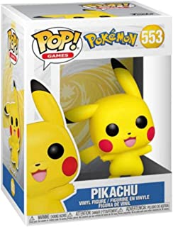 Boneco Funko Pop! Pokémon - Pikachu Waving
