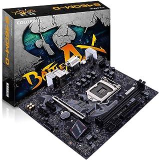 اللوحة الأم الملونة BATTLE-AX B460M-D V20 مع فتحات ذاكرة DDR4 المزدوجة تدعم معالجات انتل كور الجيل العاشر