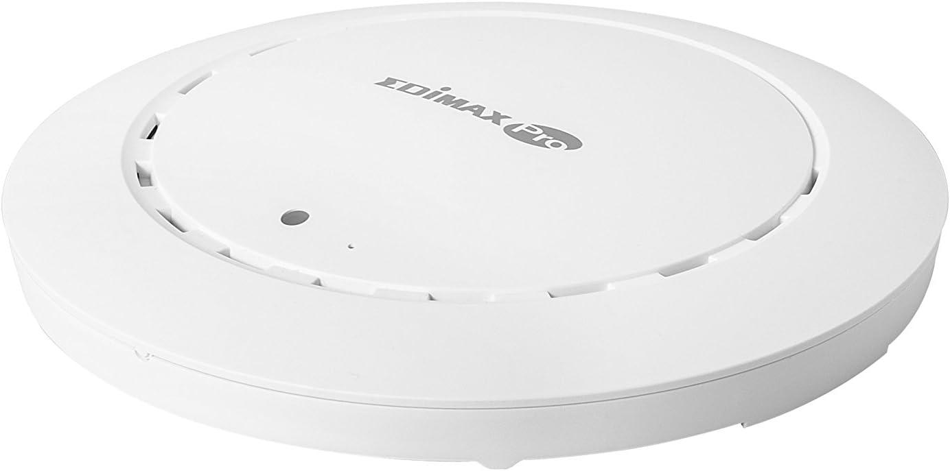 Amazon Com Edimax Pro Ac1200 Dual Band Ceiling Mount Poe Business Access Point Cap1200 White Computers Accessories