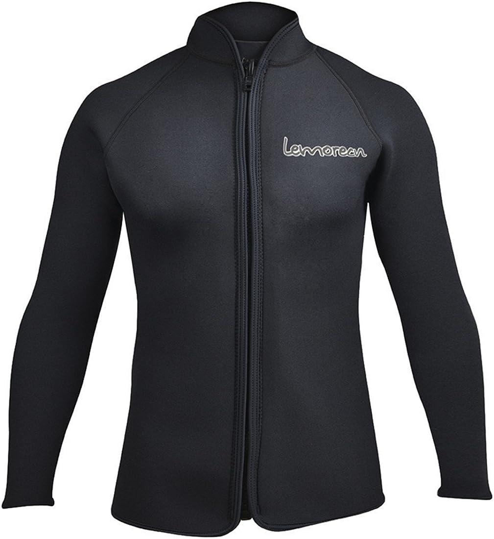 Free shipping / New Lemorecn Adult's 3mm Wetsuits Jacket El Paso Mall Neoprene Long W Sleeve