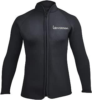 Adult's 3mm Wetsuits Jacket Long Sleeve Neoprene Wetsuits Top
