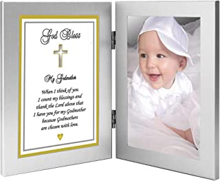 Godmother Gift from Godchild to My Godmother Sweet Poem – Add Photo to Frame