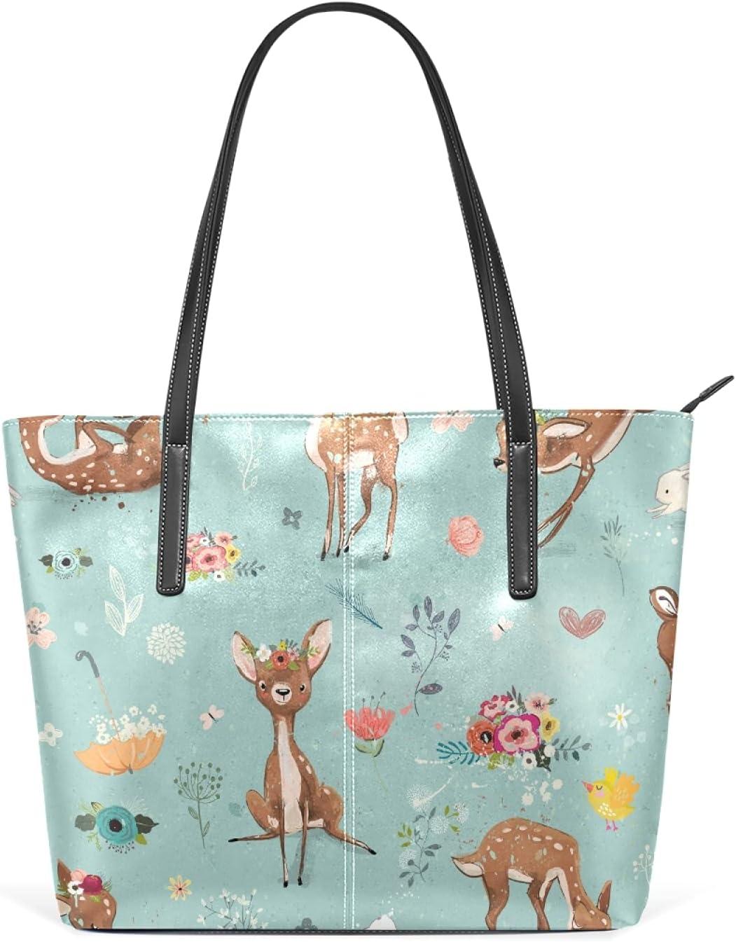 Deer And Hare Handbags Shoulder Bags Handbag f Crossbody discount Leather Rapid rise