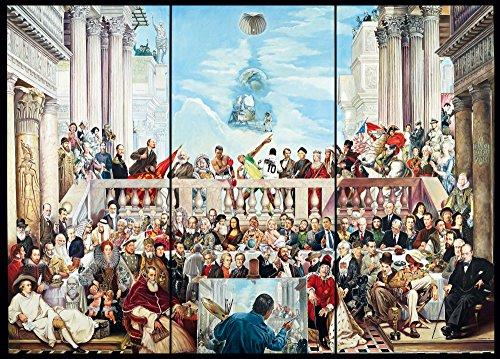 Schmidt 59270 - Renato Casaro, So vergeht der Ruhm der Welt, Puzzle, 3000 Teile