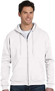 Champion C22C CH 50/50 Full Zip Hood Jacket - White - XXX-Large