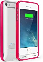Maxboost Atomic S External Protective iPhone 5S Battery Case / iPhone 5 Battery Case with Built-in Kickstand (Apple MFI Certified, Fits All Versions of iPhone 5 / 5S - Lightning Connector Output, MicroUSB Input ) [100% Compatible with iPhone 5 / 5S on iOS 7.0+ , Strengthened MicroUSB Input Port, No Signal Reduction]