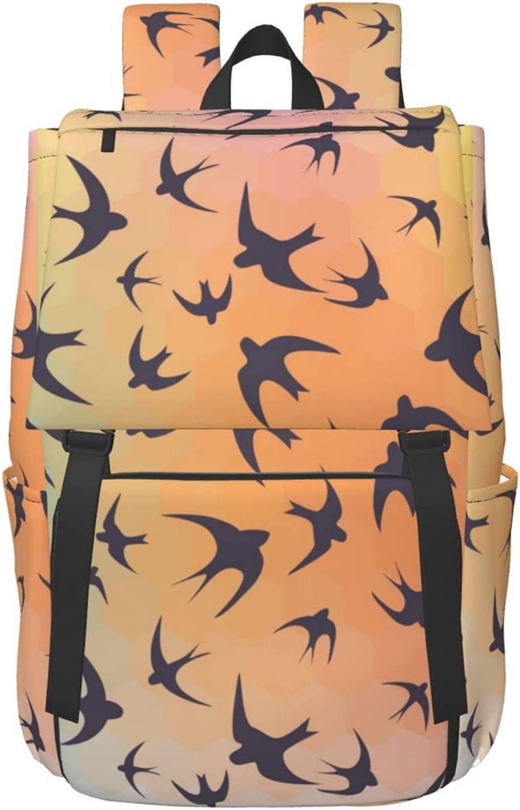 The Swallows Rainbow Hexagons store Outlet sale feature Lightweight T and Backpack Durable