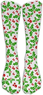 Full Moon Wolf Roar Men Women Long Calcetines Stockings Novelty Tube Calcetines Fun Patterned Cotton Calcetines