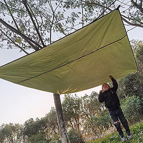 Yuan Meng toldo Vela de Sombra,Outdoor Shade Sail-Green_200 * 150 cm,Vela de Sombra Rectangular