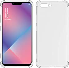 TIYA Case Clear for Oppo R15 Neo TPU Four Corners Cover Transparent Soft