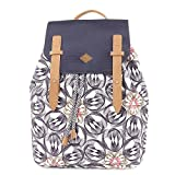 Oilily Damen Backpack Rucksack, Grau (Charcoal), 15x40x31 cm