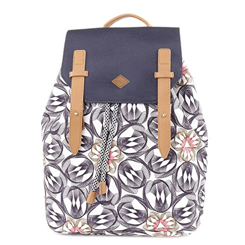 Oilily Damen Backpack Rucksack, Grau (Charcoal), 15x40x31 cm