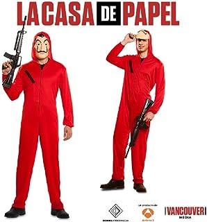 Taille CoolChange Costume des Voleurs CASA de Papel Saison 3 avec Masque de Dal/í Deguisement S