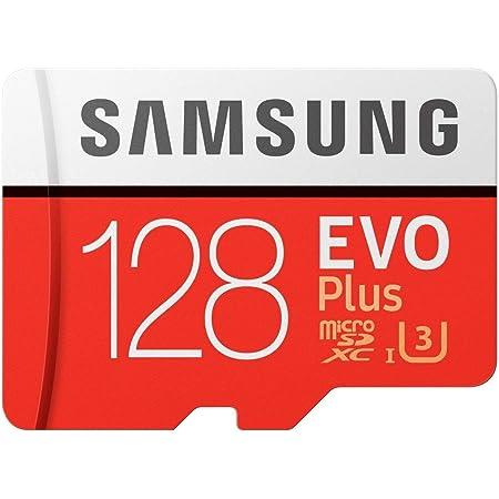 Samsung Evo Plus Class 10 UHS-I microSDXC U3 with Adapter (128GB MB-MC128GA/APC)