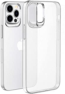 """WK Cover for IPhone 12 Pro Max Case Soft TPU + Hard PC transparent anti-seismic Protective Shell (6.7"""")"""