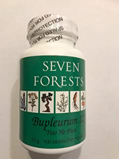 Bupleurum 12 By Seven Forests - 100 Tablets - 700 Mg. Each