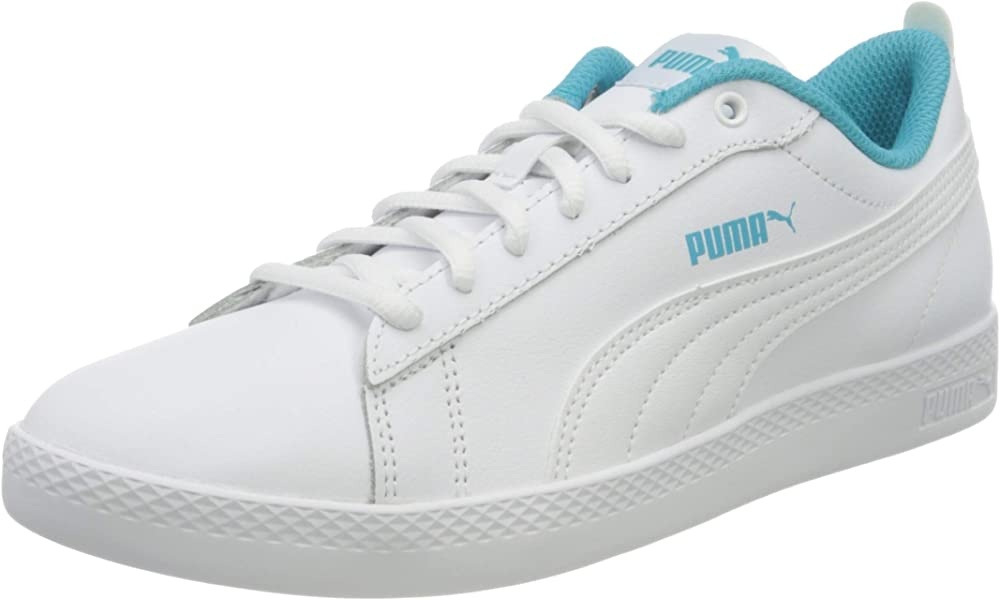 Puma smash wns v2 l scarpe sneakers da ginnastica per donna in pelle 365208F