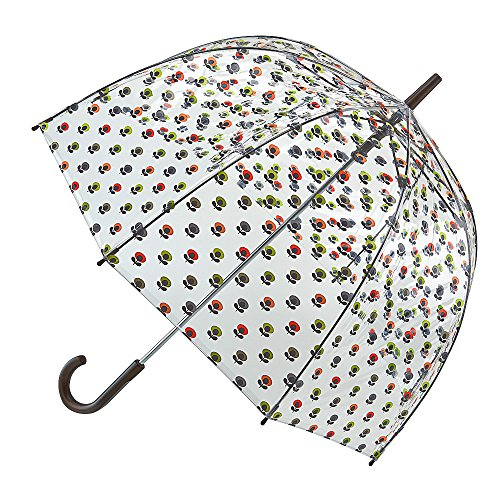 Orla Kiely Birdcage 2 Stick Umbrella, 94 cm, 1 L, Mini Multi Flower Oval