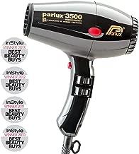 Parlux Asciugacapelli Professionale, Phon Supercompact Cer & Ion 3500, Nero - 898 Gr.