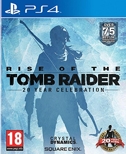 White Shark Rise of The Tomb Raider 20 Year Celebration (PS4)