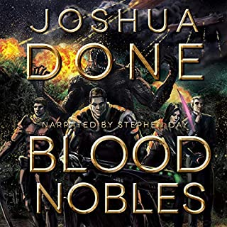 Blood Nobles audiobook cover art