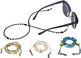 sharprepublic Confezione Da 18 Pezzi Occhiali Da Vista//Portamonete Porta Occhiali Con Cinturino In Catena