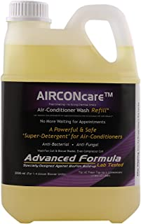 AIRCONcare Air Conditioner Cleaning Refill Solution for AC Cooling Coils