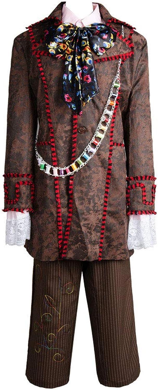 MingoTor Outfit Jacke Hose Krawatte 6 pcs Cosplay Kostüm Herren XS