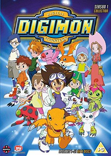Digimon Digital Monsters: Season 1 (Box Set) [Edizione: Regno Unito] [Edizione: Regno Unito]