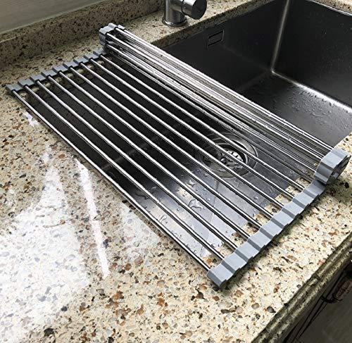 17.7' x 11.5' Long Dish Drying Rack, Attom Tech Home...