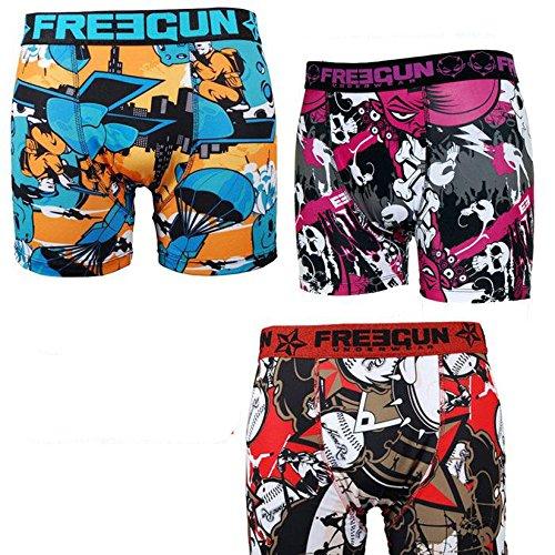 Freegun Pack Surprise Boxer Homme - Medium