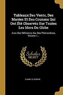 Tableaux Des Vents, Des Marées Et Des Courans Qui Ont Été Observés Sur Toutes Les Mers Du Globe: Avex Des Réflexions Sur Des Phénomènes, Volume 1...